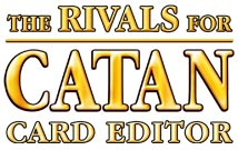 Klaus Teuber - The Rivals for Catan - Card Editor